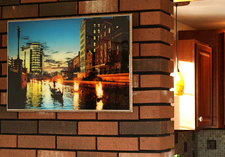 WaterFire Providence My Méz Wall Art
