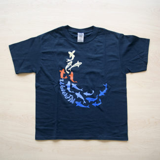 Clear Currents Kids Tee Front